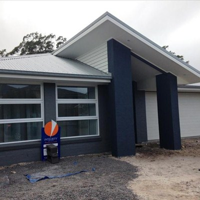 Owner's Home Nears Completion