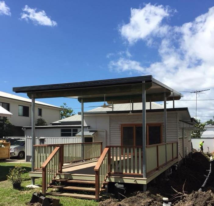 Nundah Renovation - Deck Extension