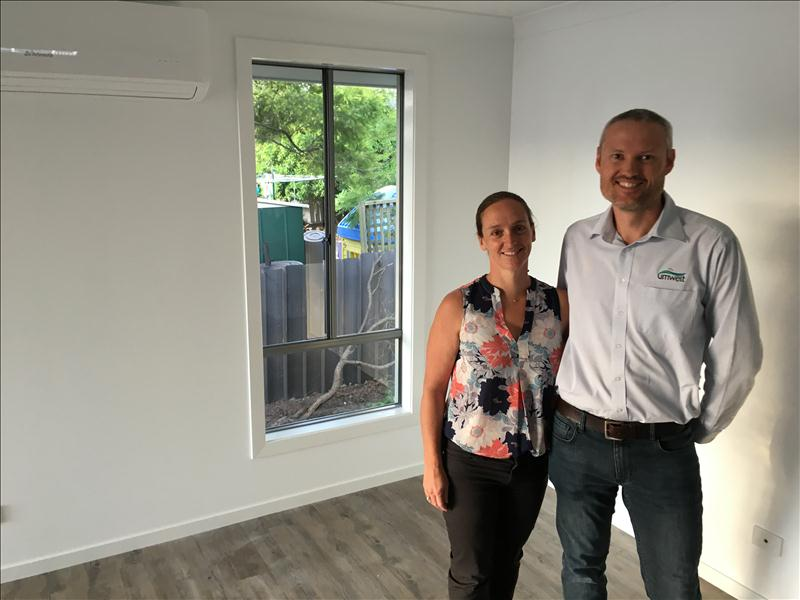 NEW HOME HANDOVER TO HAPPY CLIENTS IN BOOLAROO