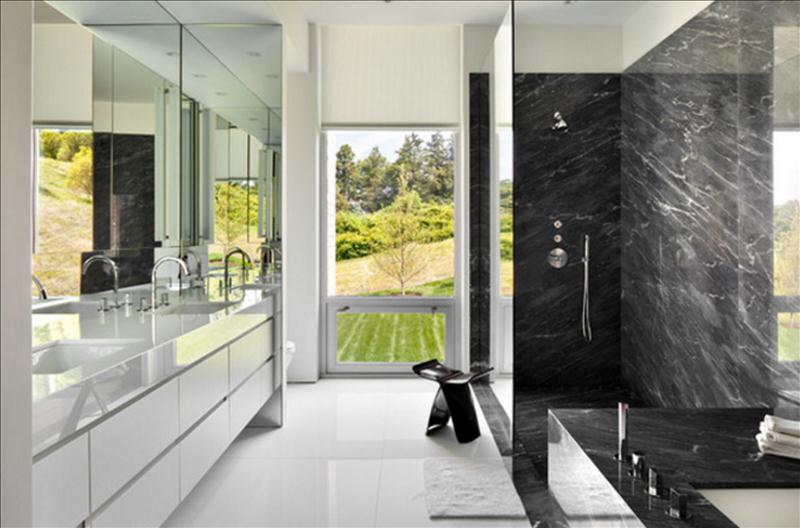Love The Look Of Black Marble