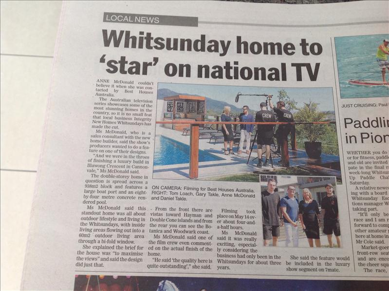 Exposure in The Whitsundays Times