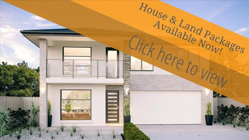House & Land Packages Available Now!