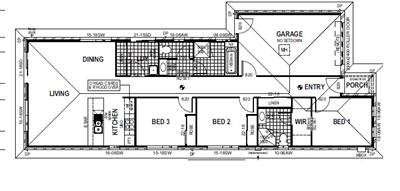 Splendid New House and Land Package Available in Seaford! floor plan - Lot 14, Lyndhurst Road, SEAFORD MEADOWS, 5169