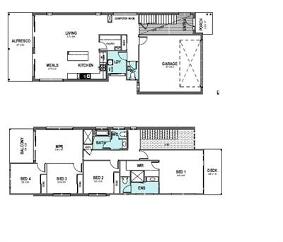 Splendid New House and Land Package Available Fulham floor plan - Lot 2, 2 Hadley Street, Fulham , 5024