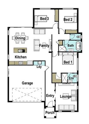 House Design Floor Plan Bowen 175