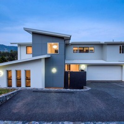 CLIENTS ECSTATIC WITH NEW CUSTOM DESIGNED HOME AT KORORA HAVEN ESTATE