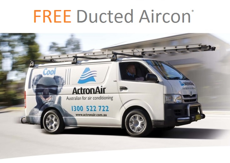 FREE DUCTED AIRCON OFFER