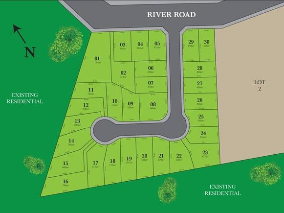 Lot 25, THE RIVER ESTATE, 70 River Road, Tahmoor NSW Integrity New Homes House And Land