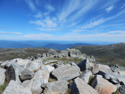 Mark and Anne walked Mount Kosciuszko last weekendHere is a