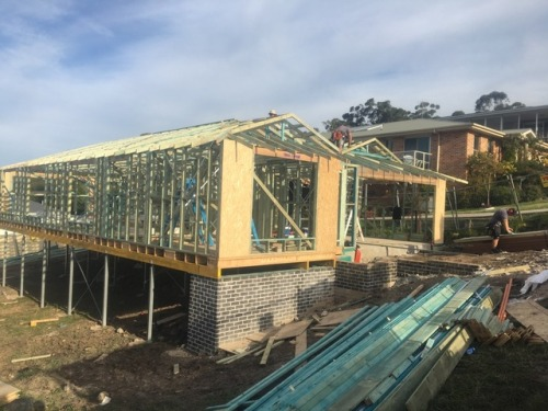 NARRAWALLEE FRAMES AND TRUSSES GO UP