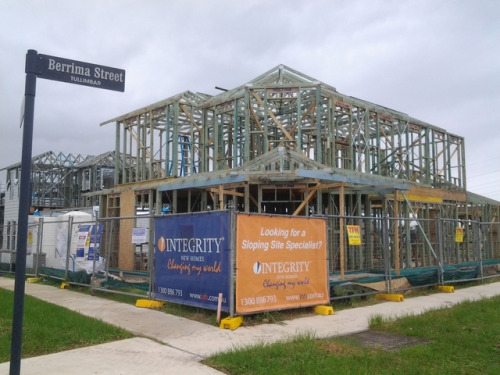 Integrity New Homes South Coast are currently constructing a