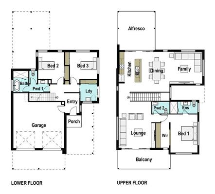 House Design Floor Plan Lakeview 275