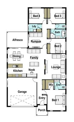 House Design Floor Plan Avalon 230
