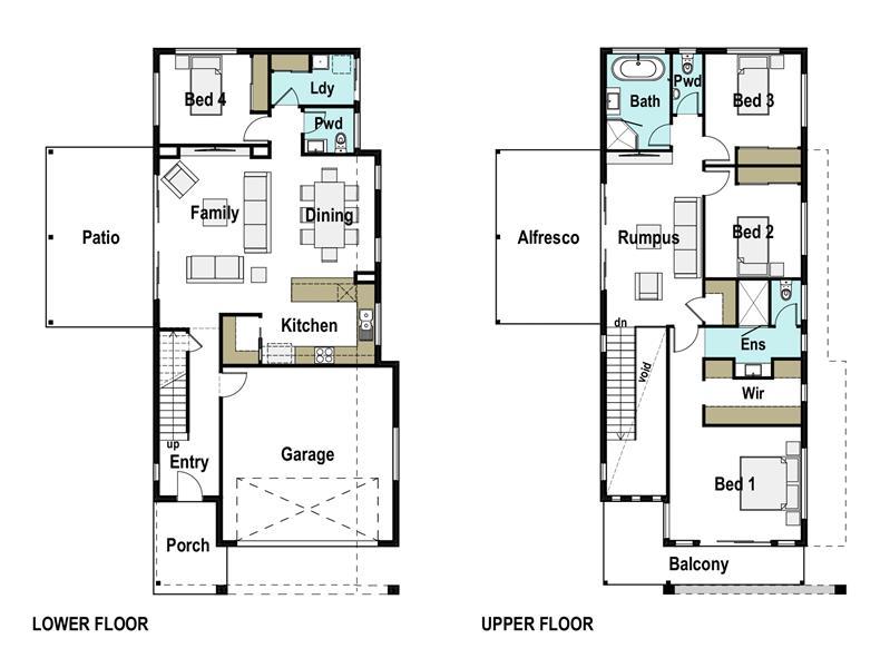 Casuarina 265 Design Detail And Floor Plan