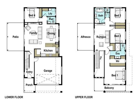 House Design Floor Plan Casuarina 265