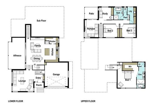 House Design Floor Plan Sierra 365