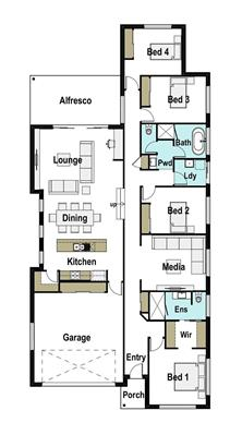 House Design Floor Plan Alton 250