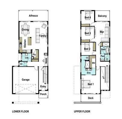 House Design Floor Plan Caxton 270