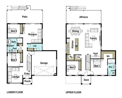 House Design Floor Plan Whitebridge 305
