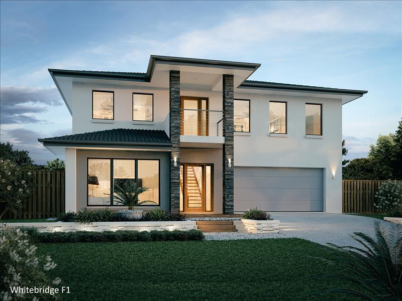 House Design Render Whitebridge 305