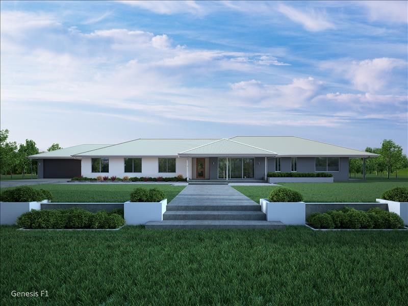 House Design Render Genesis 355