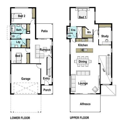 House Design Floor Plan Heights 275
