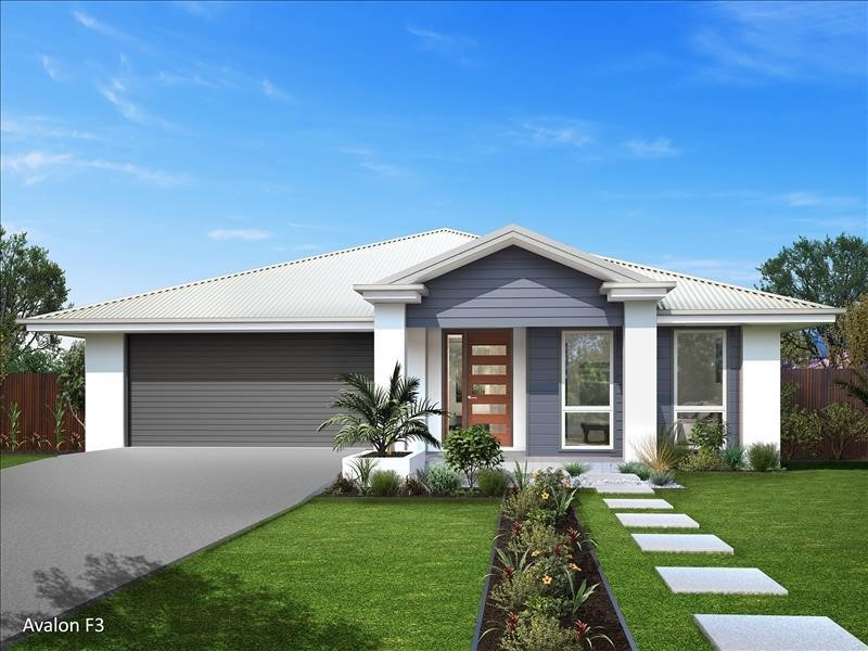 Hampton facade within rural aspect Macksville Heights estate without breaking the bank (Avalon 190 F Integrity New Homes House And Land
