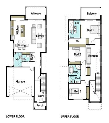 House Design Floor Plan Ascot 260