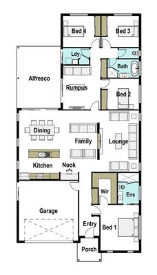 House Design Floor Plan Avalon 260