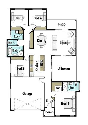 House Design Floor Plan Coogee 215