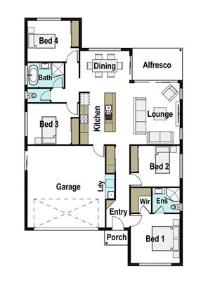 House Design Floor Plan Presence 175