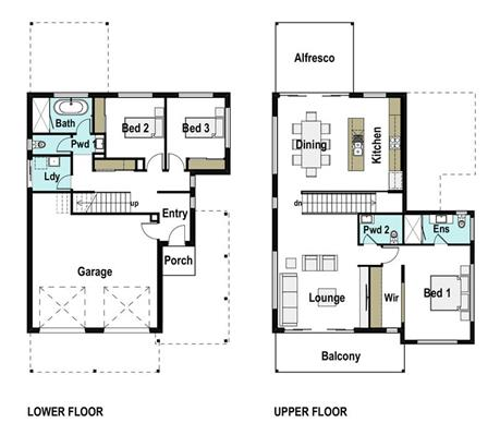 House Design Floor Plan Lakeview 240