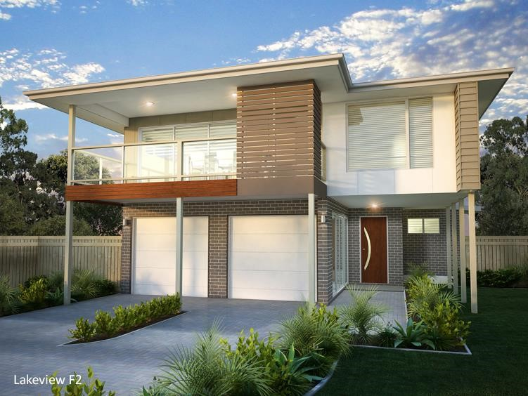 House Design Render Lakeview 240