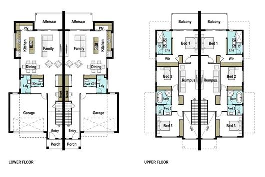 House Design Floor Plan Kazan 525
