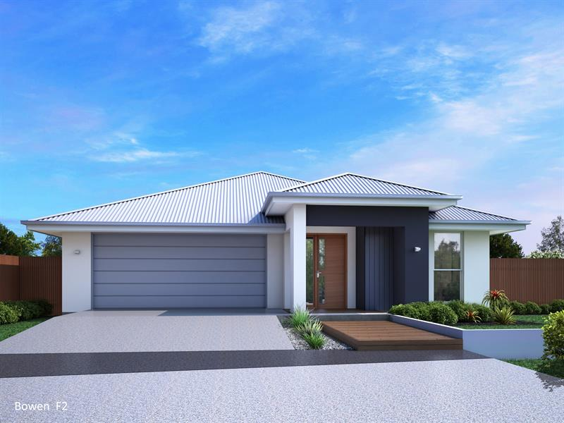 Spaciouse family home with multiple living spaces and a stylish facade (Bowen 260 F2) Integrity New Homes House And Land
