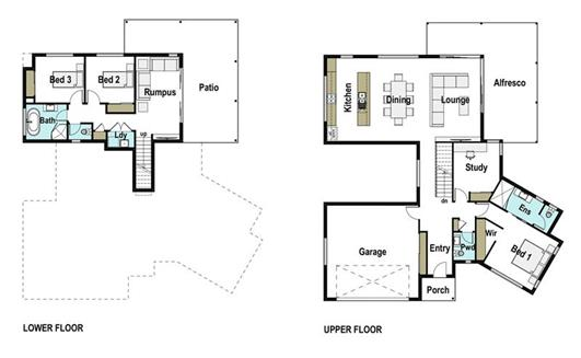 House Design Floor Plan Grasstree 265