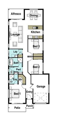 House Design Floor Plan Madrid 155