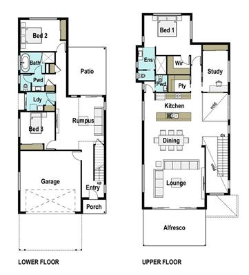 House Design Floor Plan Heights 295