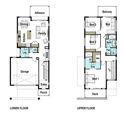 House Design Floor Plan Caxton 230