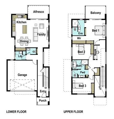 House Design Floor Plan Ascot 220
