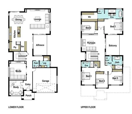 House Design Floor Plan coolum 435