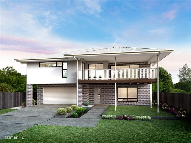 Stunning double storey home in Forest Heights Estate Nambucca Heads (Tasman 260 F1). Integrity New Homes House And Land