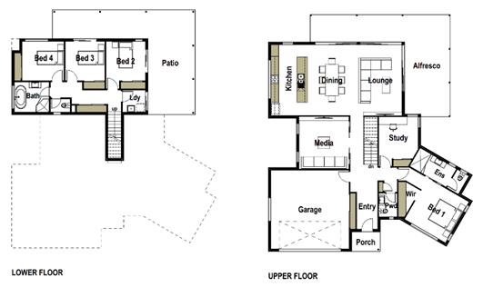 House Design Floor Plan Grasstree 290