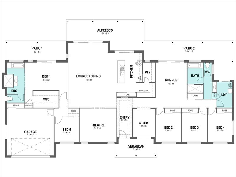 cascade 399 design detail and floor plan integrity new