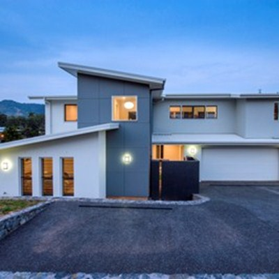 LOCAL CLIENTS ECSTATIC WITH NEW CUSTOM DESIGNED HOME AT KORORA HAVEN ESTATE