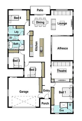 House Design Floor Plan Aspect 260