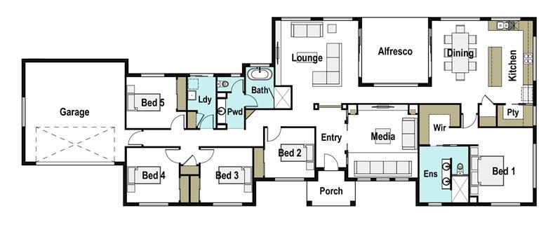 Barrington 280 design detail and floor plan integrity for Barrington floor plan