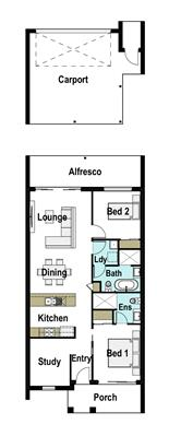 House Design Floor Plan Daisy 155
