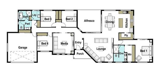 House Design Floor Plan Genesis 265