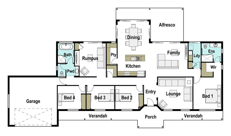 Grand 31 Home Design And Floor Plan Integrity New Homes
